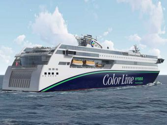 Ulstein firms up order for giant plug-in hybrid ferry