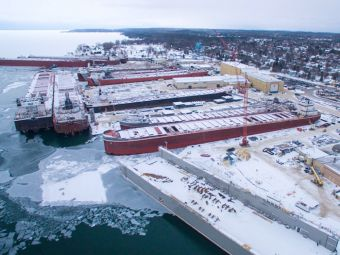 Winter work, ATB newbuilds keep Fincantieri Bay busy