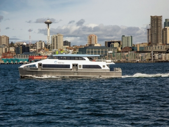 All American delivers new ferry for King County