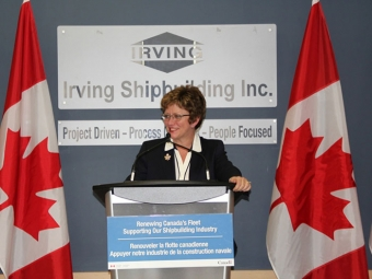 Irving to be Canadian Surface Combatant prime contractor