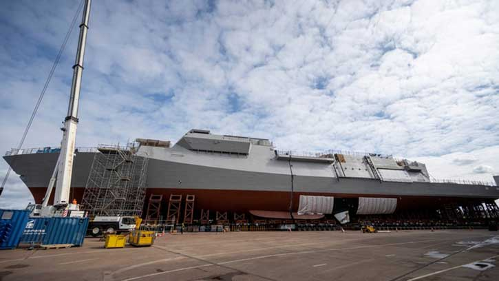 BAE Systems gets its frigate together